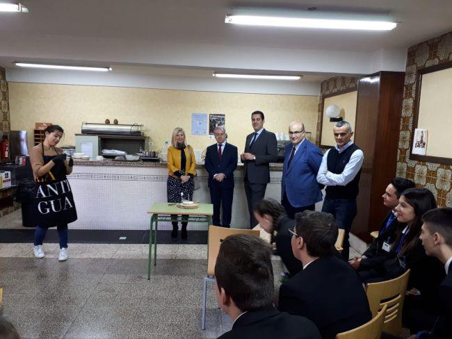 El CEFIE de Zamora acoge la primera parte del encuentro transfronterizo de escuelas de hostelería